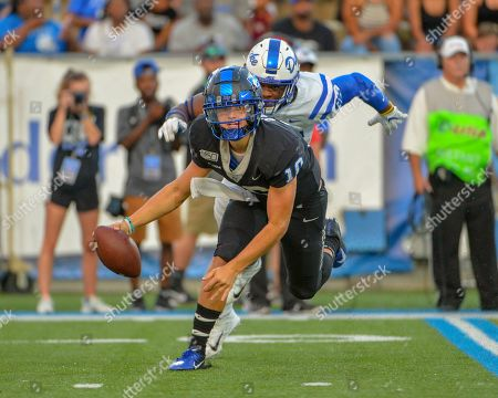 Editorial photo of NCAA Football Duke vs Middle Tennessee, Murfreesboro, USA - 14 Sep 2019