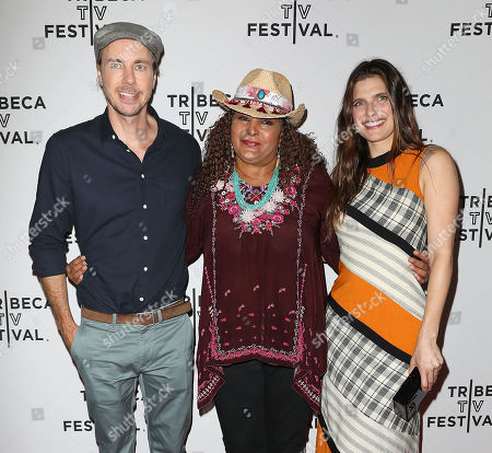 Dax Shepard, Pam Grier and Lake Bell