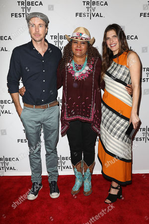 Stock Photo of Dax Shepard, Pam Grier and Lake Bell