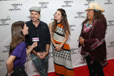 Dax Shepard, Lake Bell and Pam Grier