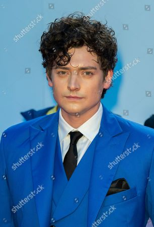 Stock Image of Aneurin Barnard arrives for the premiere of the movie Radioactive during the 44th annual Toronto International Film Festival (TIFF) in Toronto, Canada, 14 September 2019. The festival runs from 05 September to 15 September 2019.