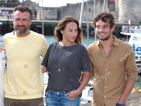 Alexandre Brasseur, Vanessa Demouy and Clement Remiens