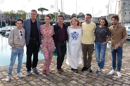 Gregoire Champion, Pierre Deny, Linda Hardy, Farouk Bermouga, Ariane Seguillon, Alexandre Brasseur, Vanessa Demouy and Clement Remiens