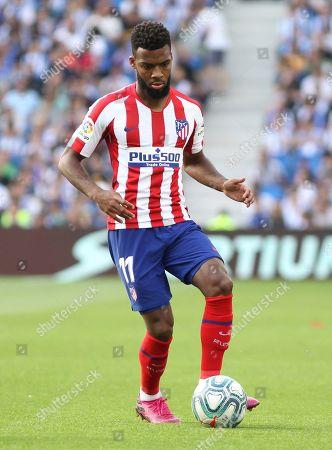 Lemar of Atletico Madrid