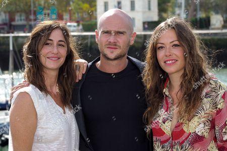 Eleonore Bernheim, Nicolas Gob and Dounia Coesens