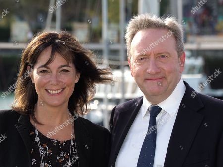 Stock Image of Fiona Dolman and Neil Dudgeon