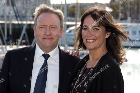 Stock Picture of Neil Dudgeon and Fiona Dolman