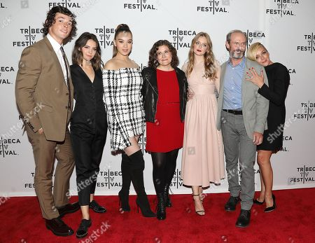 Adrian Enscoe, Ella Hunt, Hailee Steinfeld, Alena Smith (Creator), Anna Baryshnikov, Toby Huss and Jane Krakowski