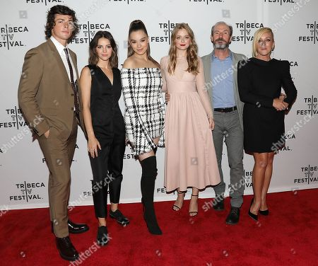 Adrian Enscoe, Ella Hunt, Hailee Steinfeld, Anna Baryshnikov, Toby Huss and Jane Krakowski