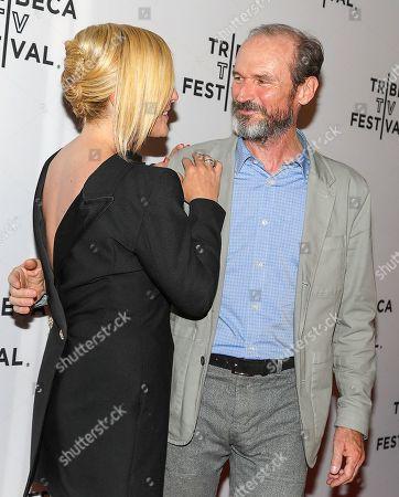 Jane Krakowski and Toby Huss