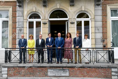 Editorial image of Handover At The Parliament Of Wallonia, Belgium - 13 Sep 2019