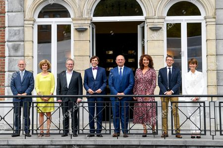 Editorial picture of Handover At The Parliament Of Wallonia, Belgium - 13 Sep 2019