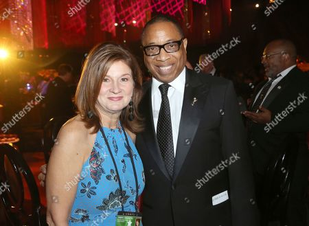 Cheryl Cecchetto, Hayma Washington. Cheryl Cecchetto, left, and Hayma Washington, Television Academy CEO, attend the Governors Ball during night one of the Television Academy's 2019 Creative Arts Emmy Awards, at the Microsoft Theater in Los Angeles