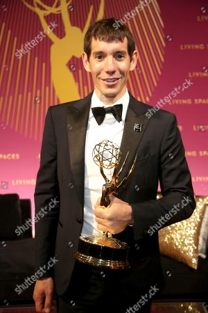 "Alex Honnold, of ""Free Solo,"" attends the Governors Ball during night one of the Television Academy's 2019 Creative Arts Emmy Awards, at the Microsoft Theater in Los Angeles"