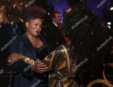 Wanda Sykes, Angela Bassett. Wanda Sykes, left, and Angela Bassett attend the Governors Ball during night one of the Television Academy's 2019 Creative Arts Emmy Awards, at the Microsoft Theater in Los Angeles