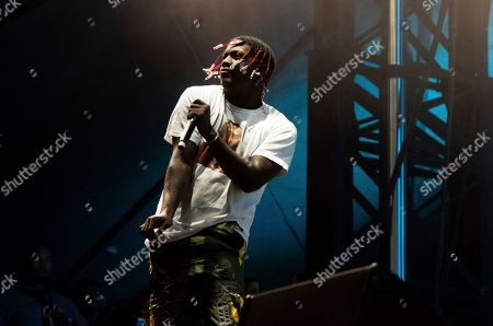 Lil Yachty performs on stage during Day 1 of Music Midtown 2019, in Atlanta