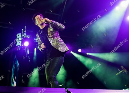 Brendon Urie of Panic! At The Disco performs onstage during Day 1 of Music Midtown 2019, in Atlanta