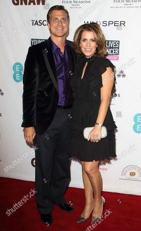 Justin Bower and Natasha Kaplinsky