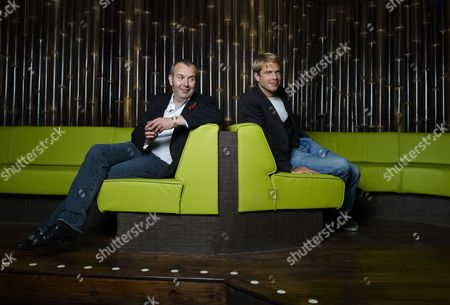 Piers Adam and Nick House at their club, Kanaloa in London