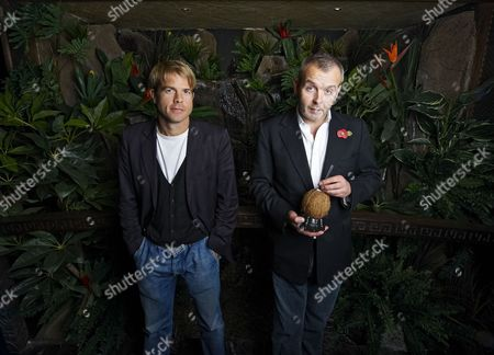 Nick House and Piers Adam at their club, Kanaloa in London