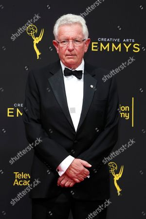 Keith Scholey arrives for the 2019 Creative Arts Emmy Awards at the Microsoft Theater in Los Angeles, California, USA, 14 September 2019. The Creative Arts Emmy Awards honor excellence in Television technical categories such as makeup, casting direction, costume design, editing and cinematography. The 71st Primetime Emmy Awards Ceremony will take place on 22 September 2019.