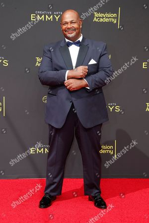 Stock Photo of Kevin Michael Richardson arrives for the 2019 Creative Arts Emmy Awards at the Microsoft Theater in Los Angeles, California, USA, 14 September 2019. The Creative Arts Emmy Awards honor excellence in Television technical categories such as makeup, casting direction, costume design, editing and cinematography. The 71st Primetime Emmy Awards Ceremony will take place on 22 September 2019.