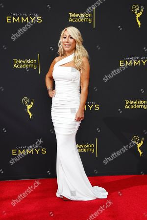 Lori Greiner arrives for the 2019 Creative Arts Emmy Awards at the Microsoft Theater in Los Angeles, California, USA, 14 September 2019. The Creative Arts Emmy Awards honor excellence in Television technical categories such as makeup, casting direction, costume design, editing and cinematography. The 71st Primetime Emmy Awards Ceremony will take place on 22 September 2019.
