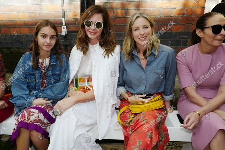 Lyla Elichaoff, Trinny Woodall, Stephanie Phair and Caroline Rush in the front row