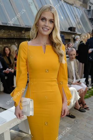 Lady Kitty Spencer in the front row