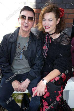 Marc Almond and Jasmine Guinness