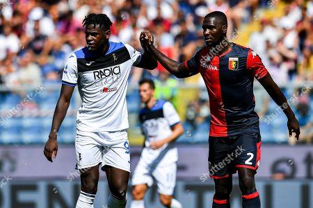 Editorial image of Genoa Cfc vs Atalanta Bergamasca Calcio, Italy - 15 Sep 2019