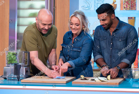 Simon Rimmer, Kirsty Leigh Porter and Rishi Nair