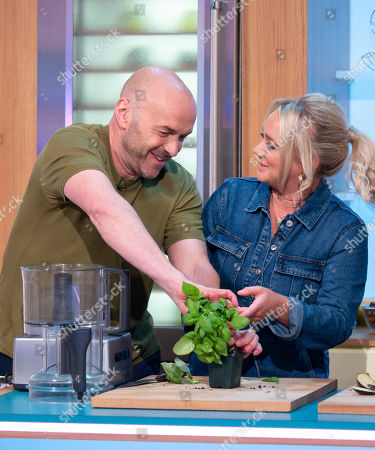Simon Rimmer and Kirsty Leigh Porter