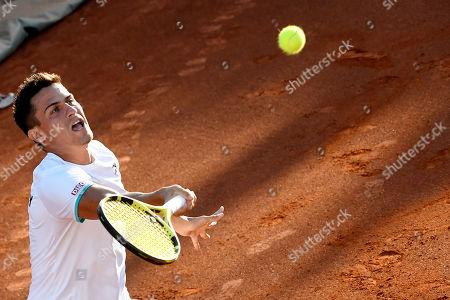 Editorial image of Tennis Davis Cup - Hungary vs. Ukraine, Budapest - 15 Sep 2019