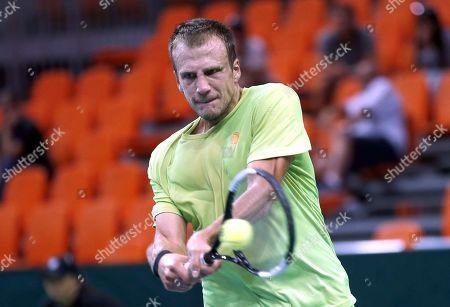 Editorial picture of Davis Cup - Bosnia and Herzegovina vs Czech Republic, Zenica - 15 Sep 2019