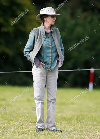 Princess Anne at the Whatley Manor Horse trials.