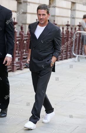 Editorial picture of Victoria Beckham show, Arrivals, Spring Summer 2020, London Fashion Week, UK - 15 Sep 2019