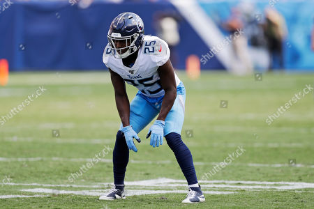 Tennessee Titans cornerback Adoree' Jackson plays against the Indianapolis Colts in an NFL football game, in Nashville, Tenn