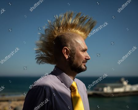 Stock Photo of Lib Dem PPC for Erewash, James Archer, at the conference.