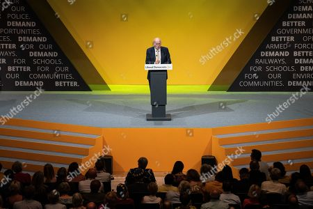 Sir Vince Cable delivers his final conference speech ahead of stepping down as an MP.