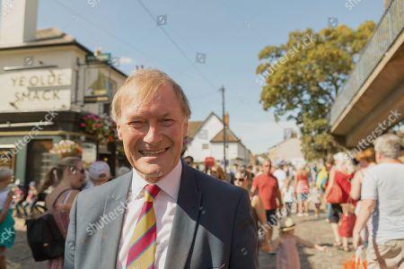 Sir David Amess at Old Leigh Regatta