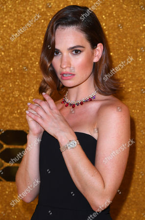 Stock Image of Lily James