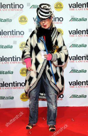 Editorial photo of 'Valentino: the Last Emperor' film premiere, Milan, Italy - 18 Nov 2009