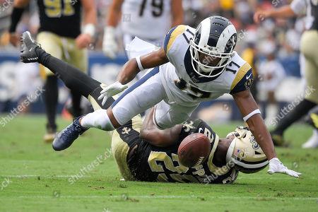 Editorial image of Saints Rams Football, Los Angeles, USA - 15 Sep 2019