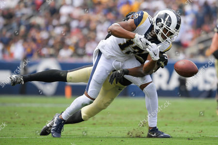Editorial picture of Saints Rams Football, Los Angeles, USA - 15 Sep 2019