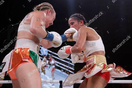 Editorial photo of Boxing Serrano Hardy, New York, USA - 13 Sep 2019