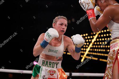 Editorial image of Boxing Serrano Hardy, New York, USA - 13 Sep 2019