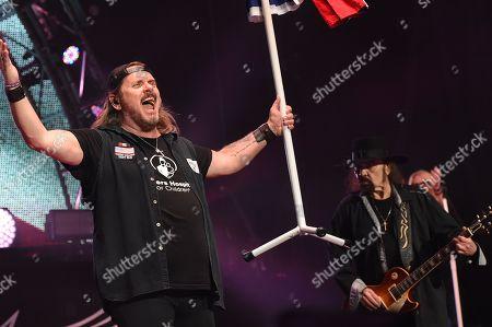 Editorial image of Lynyrd Skynyrd in concert, Atlanta, USA - 14 Sep 2019