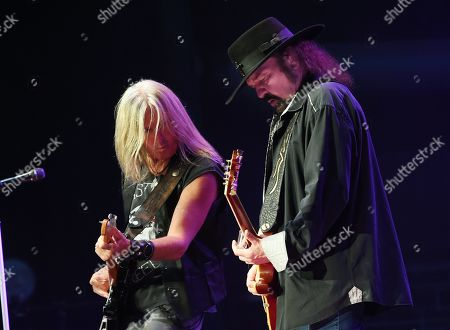 Mark Matejka and Gary Rossington