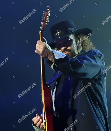 Stock Image of Gary Rossington
